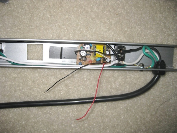 Serial controlled power strip